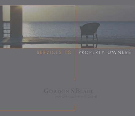 Services To Property Owners