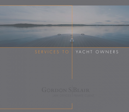 Services To Yacht Owners